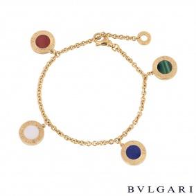 Bvlgari Rose Gold Multi-Gem Bvlgari Bvlgari Bracelet
